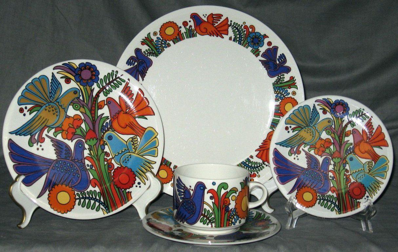 Villeroy And Boch Acapulco China Pattern  Pretty Dishes  Pinterest von Bone China Porzellan Villeroy Boch Photo