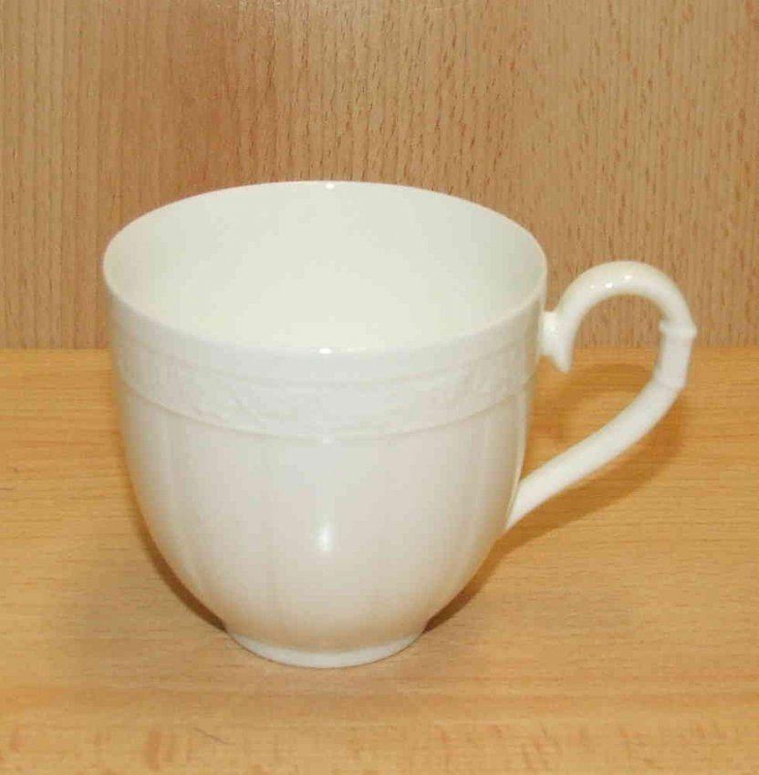 Villeroy & Boch Cameo Weiss Kaffeeobere von Bone China Porzellan Villeroy Boch Photo