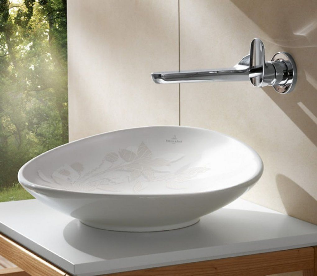 Villeroy & Boch My Nature Surface Mounted Basin  Basin Wall von Villeroy & Boch My Nature Aufsatzwaschtisch Photo
