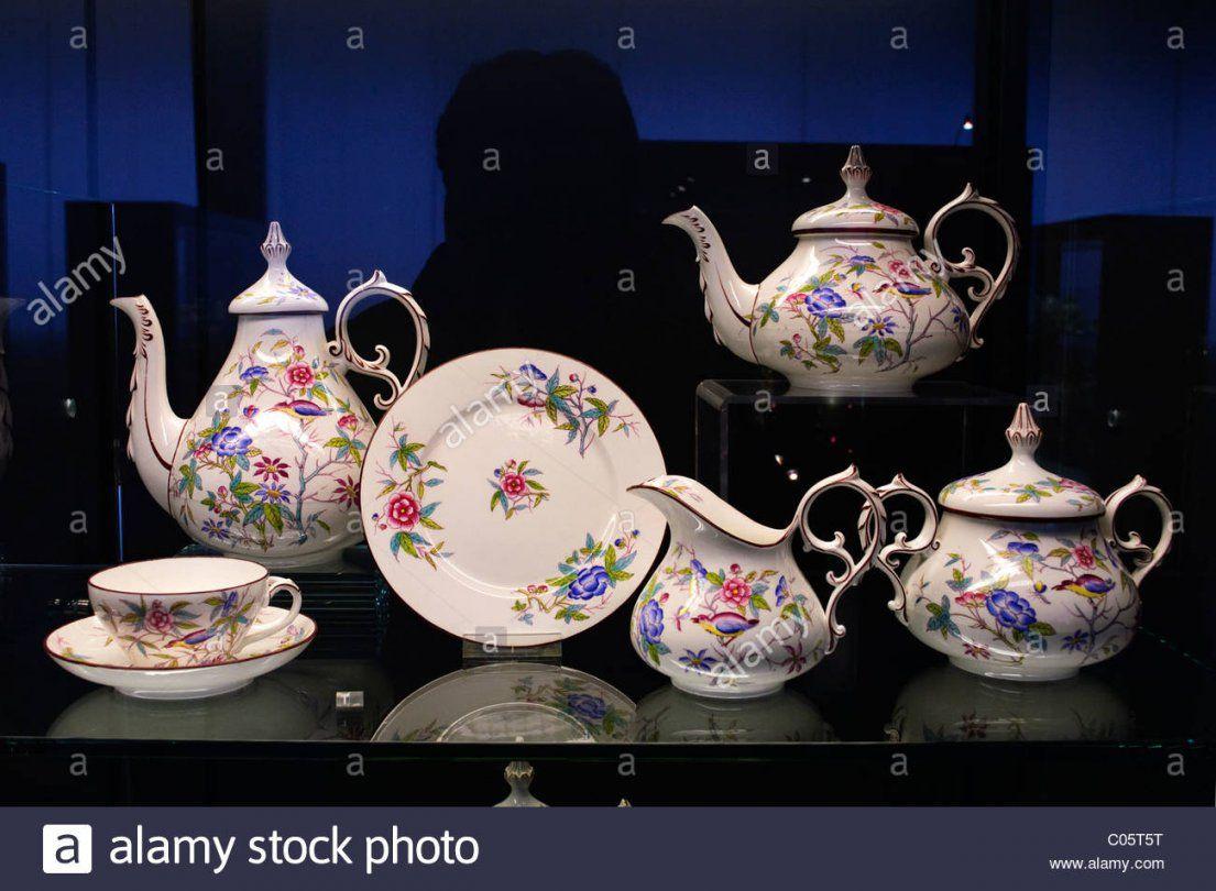 Villeroy & Boch Porzellan Teeservice Aus Der Zeit Von 18501865 Auf von Bone China Porzellan Villeroy Boch Bild