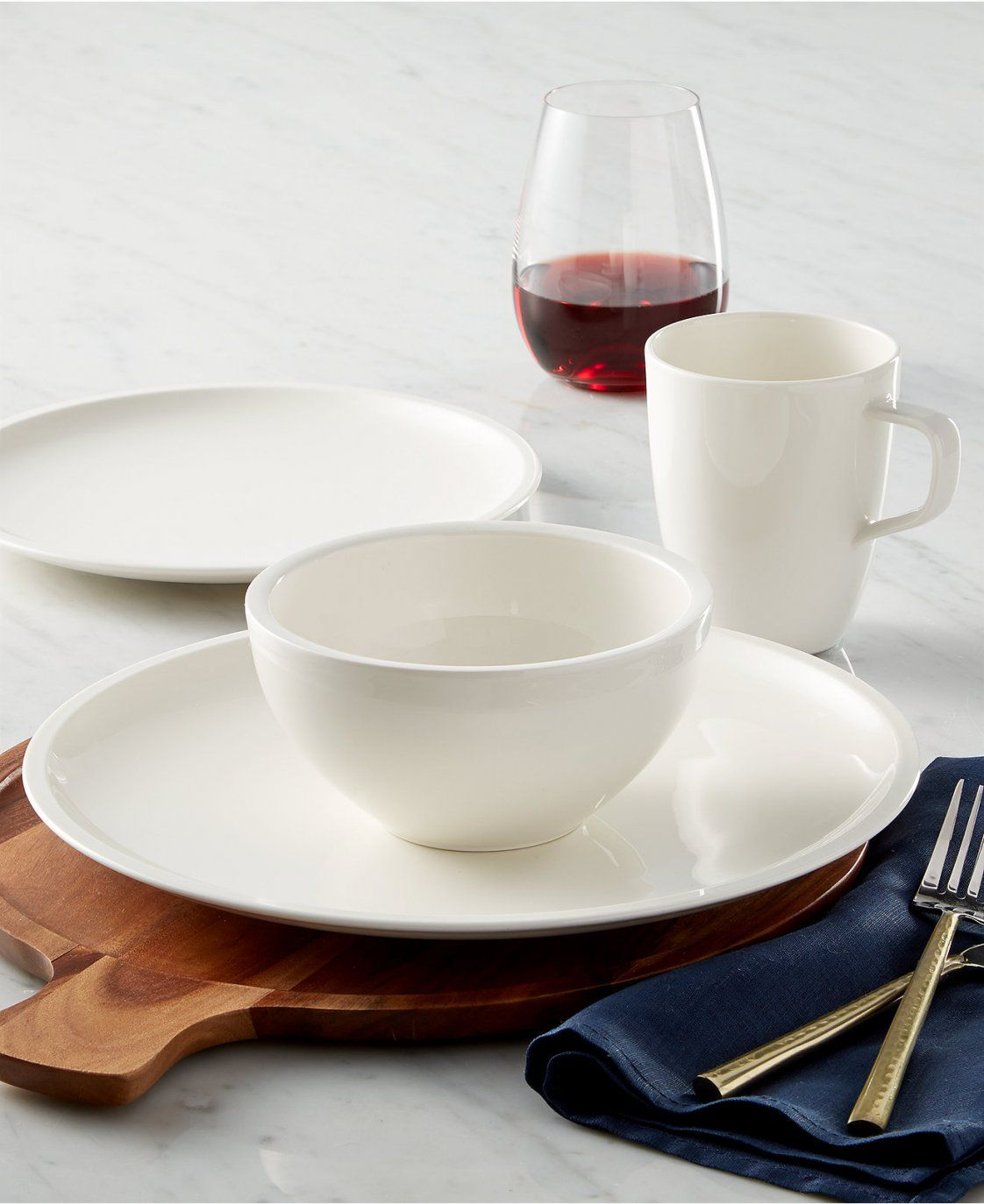 Villeroy Boch Royal Basic Set 30 Teilig von Villeroy Boch Royal Basic Bild