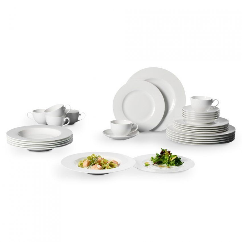 Villeroy & Boch Royal Basic Set 30Teilig Weiss  Online Kaufen  Manor von Villeroy & Boch Royal Basic Set 30 Teilig Photo