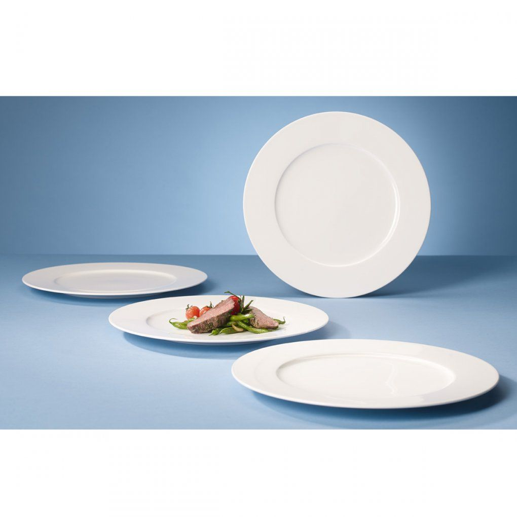 Villeroy & Boch Royal Gourmet 4 Piece Plate Set  Dove Mill von Villeroy Und Boch Royal Basic Bild