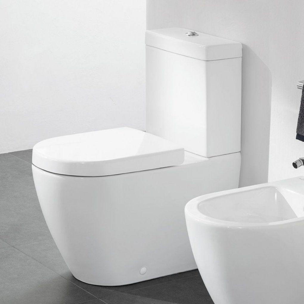 Villeroy & Boch Subway 20 Rimless Close Coupled Toilet  Uk Bathrooms von Subway Villeroy Und Boch Wc Bild