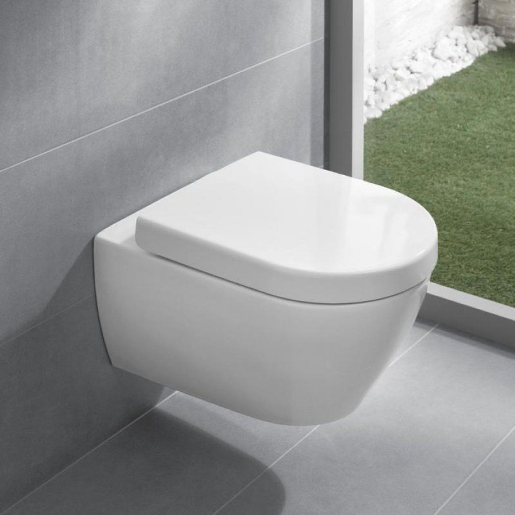 Villeroy & Boch Subway 20 Wall Mounted Pan  Uk Bathrooms von Subway Villeroy Und Boch Wc Bild