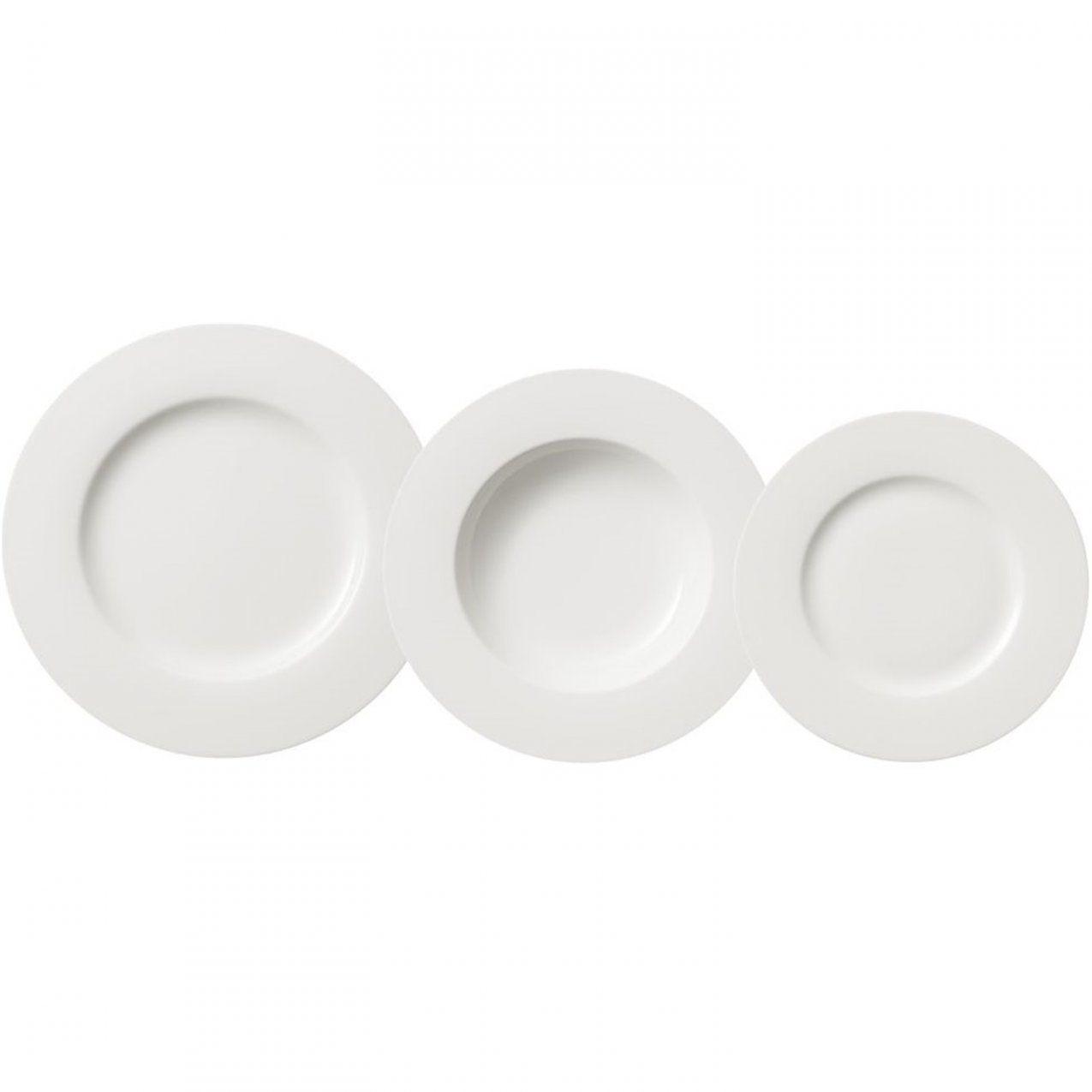 Villeroy & Boch Twist White Diner Serviesset 18Delig Wit Kopen von Villeroy Und Boch Royal Basic Bild