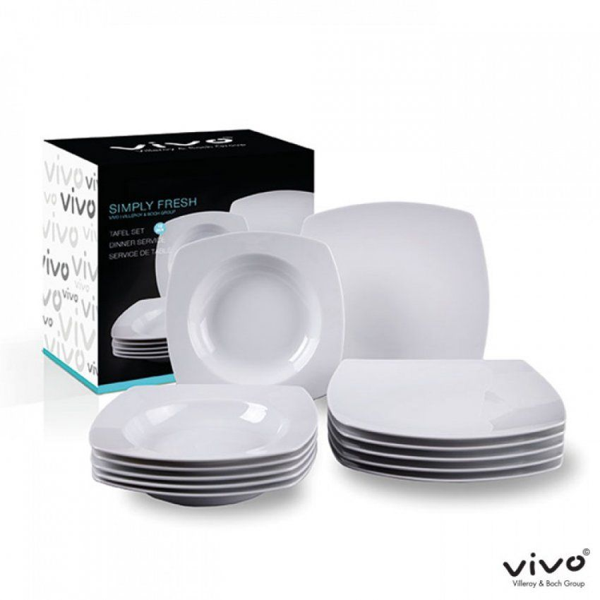 Villeroy En Boch Vivo Simple Amazing Vivo Villeroy U Boch Group Set von Villeroy Boch Vivo Geschirr Photo