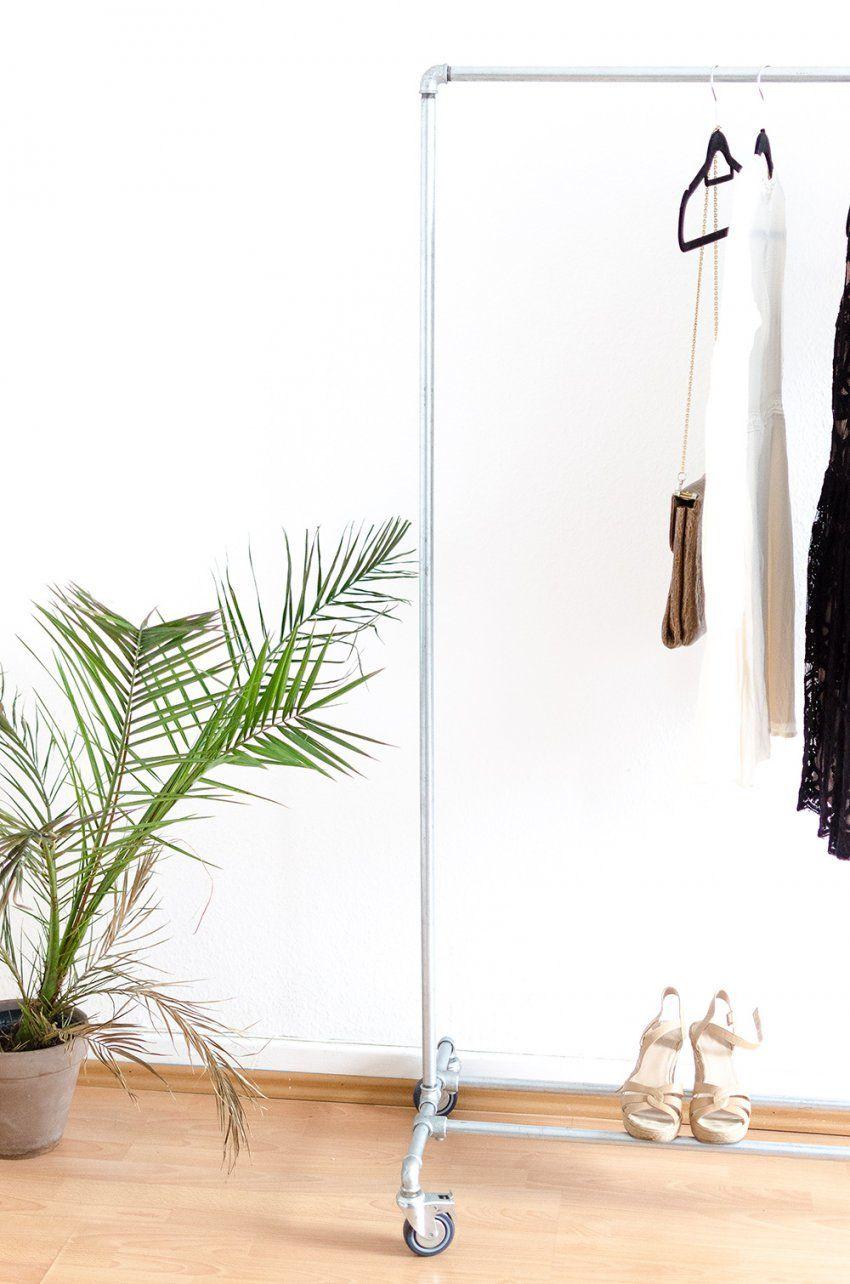 Vintage Kleiderständer – Diy Oder Kaufen  Andysparkles von Kleiderständer Aus Rohren Selber Bauen Photo