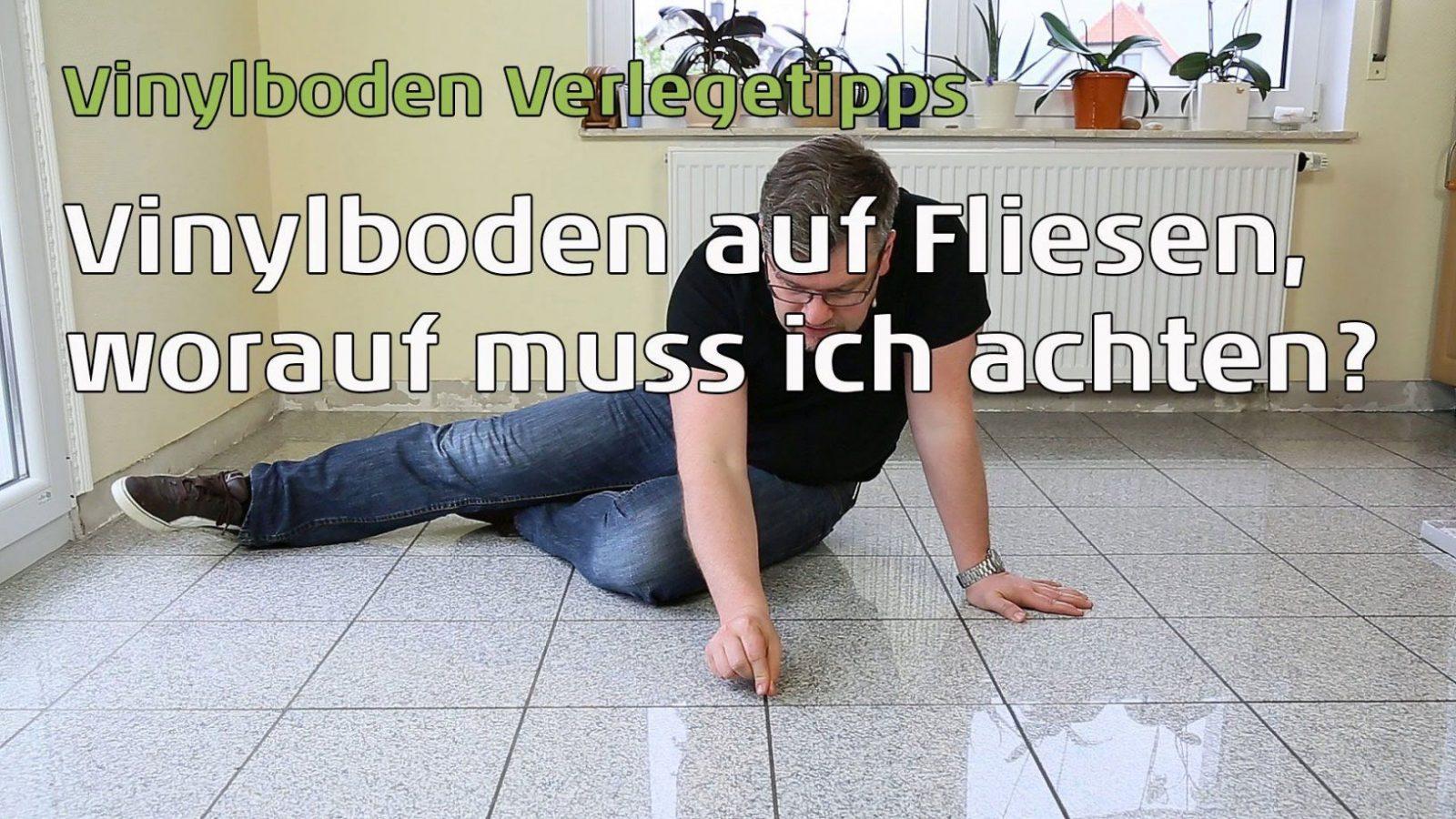 Vinylboden Auf Fliesen Verlegen Wie Breit Und Tief Darf Die Fuge von Klick Vinyl Auf Fliesen Legen Bild
