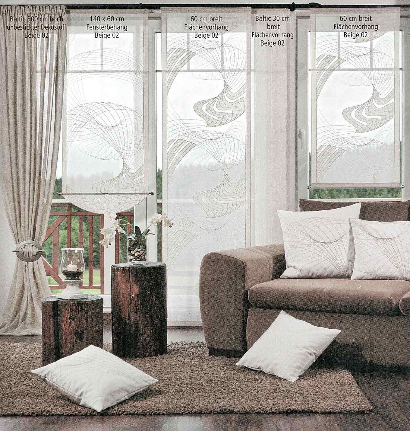 Viora Flächenvorhang Bergen Gardinen Günstig Online Kaufen von Gardinen Meterware Günstig Kaufen Photo