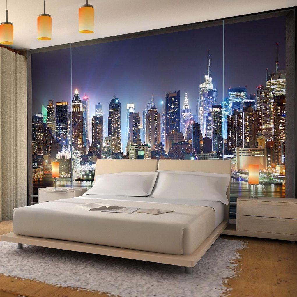 Vlies Fototapete Fenster Nach New York Ist Eine Beeindruckende von Fototapete 3D New York Bild