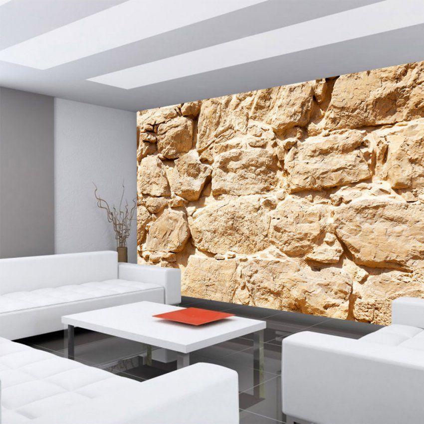 Vlies Fototapete Rock Stone Wall Steinwand Tapete Steinwand von Dekosteine Für Die Wand Bild