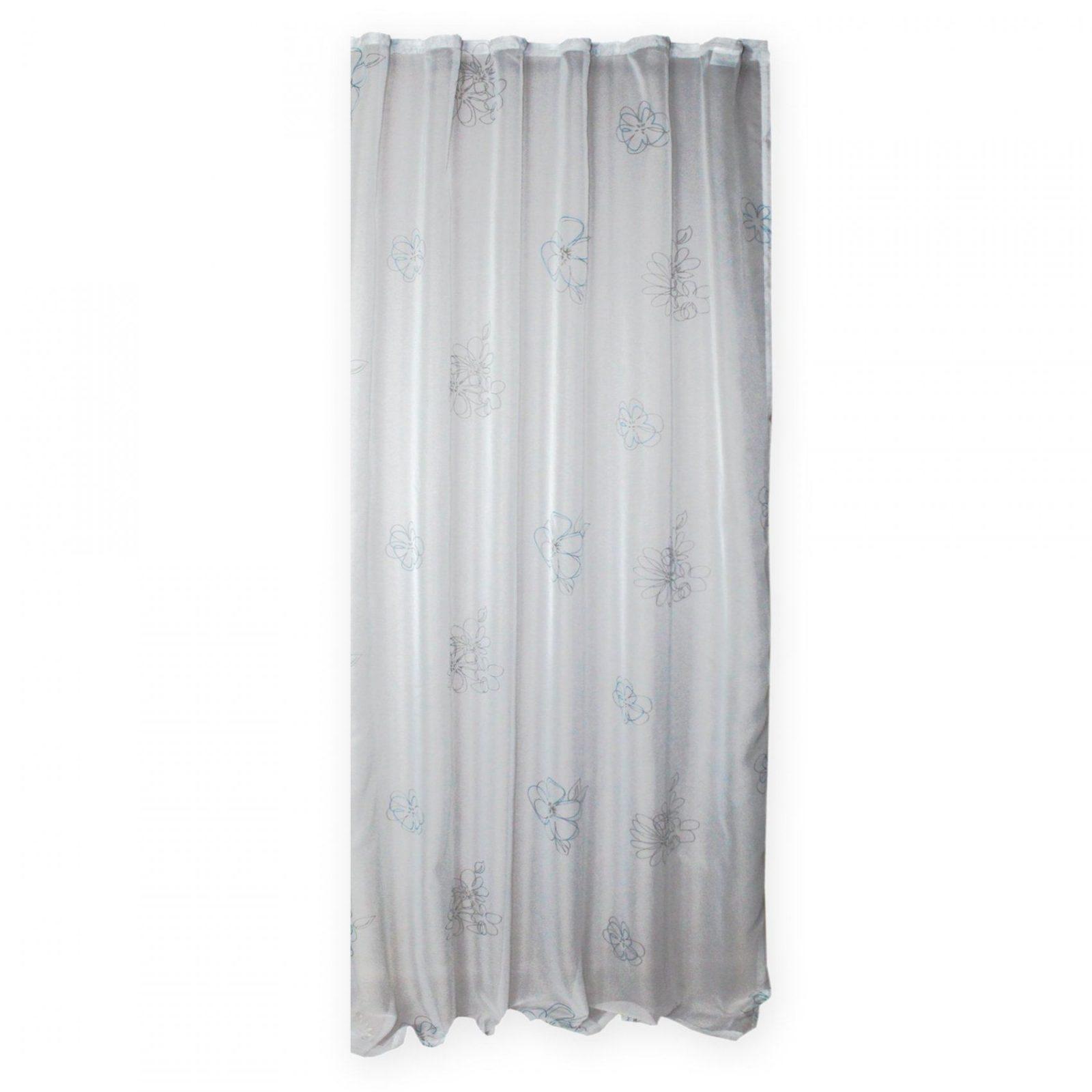 Voile Dekoschal Whitney Gardine Weiß Transparent Kräuselband Vorhang von Gardine Weiß Transparent Kräuselband Bild