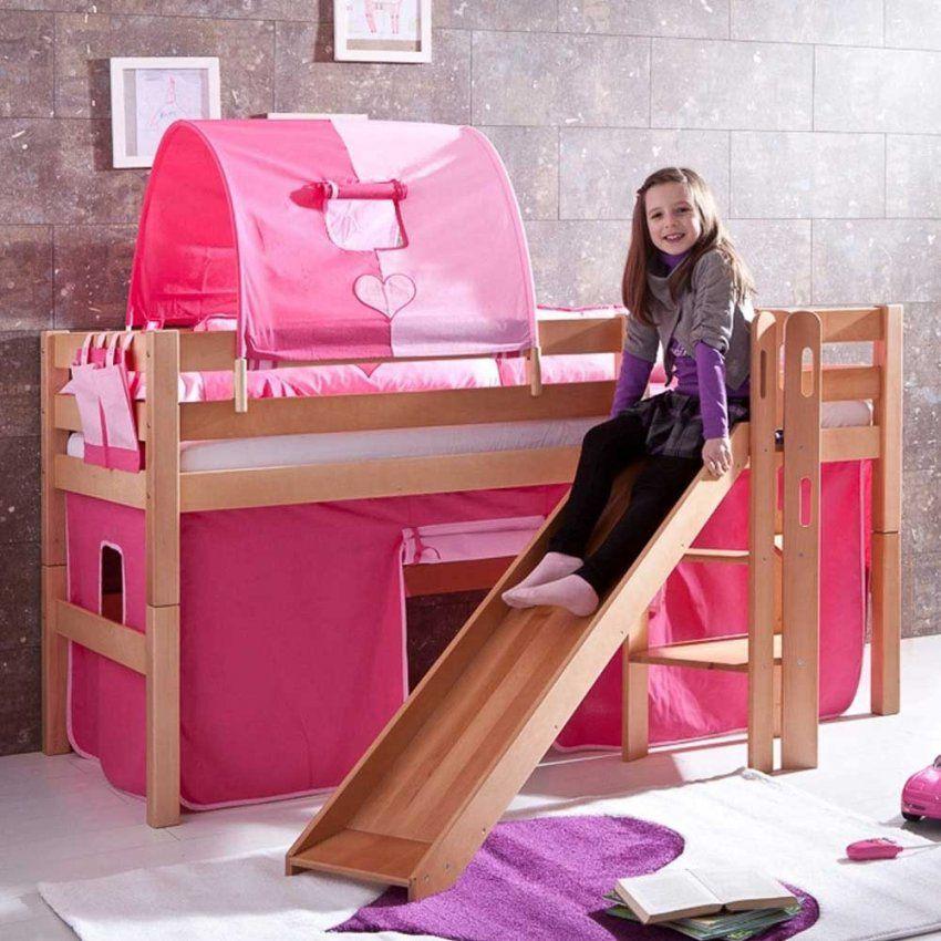 Voleo Kinderbetten Online Kaufen  Möbelsuchmaschine  Ladendirekt von Kinderhochbett Mit Rutsche Günstig Kaufen Bild