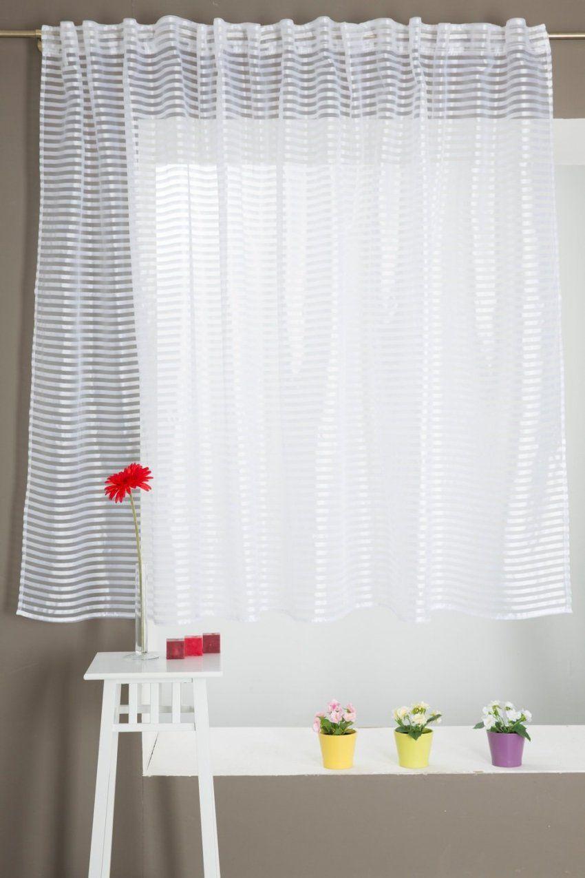 Vorhang Gardine Lang 300 X 160 Cm Feine Horizontale Streifen Ösen von Vorhänge 300 Cm Lang Bild