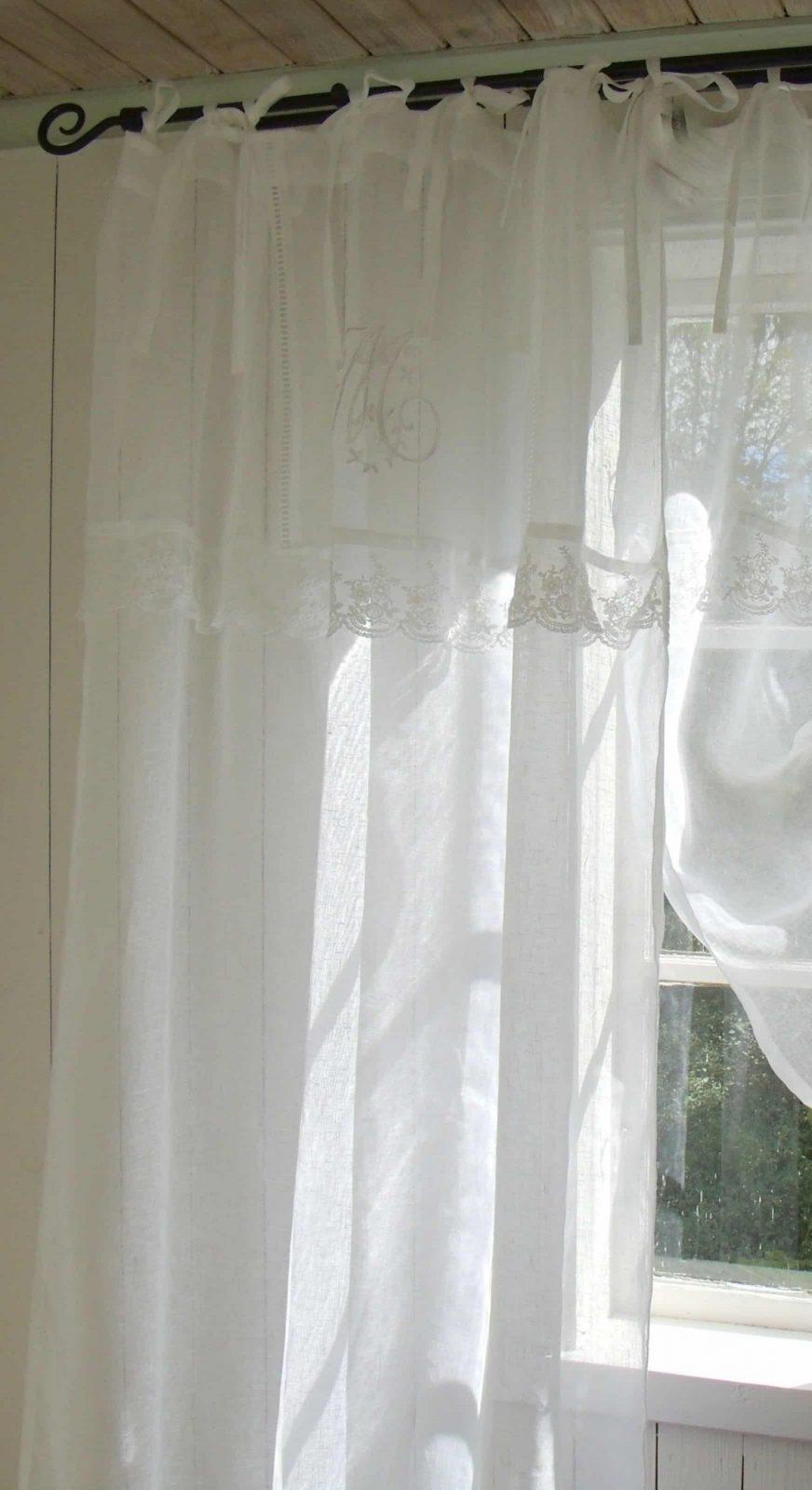leinenvorhang spitze von leinen gardinen mit spitze bild haus design ideen. Black Bedroom Furniture Sets. Home Design Ideas