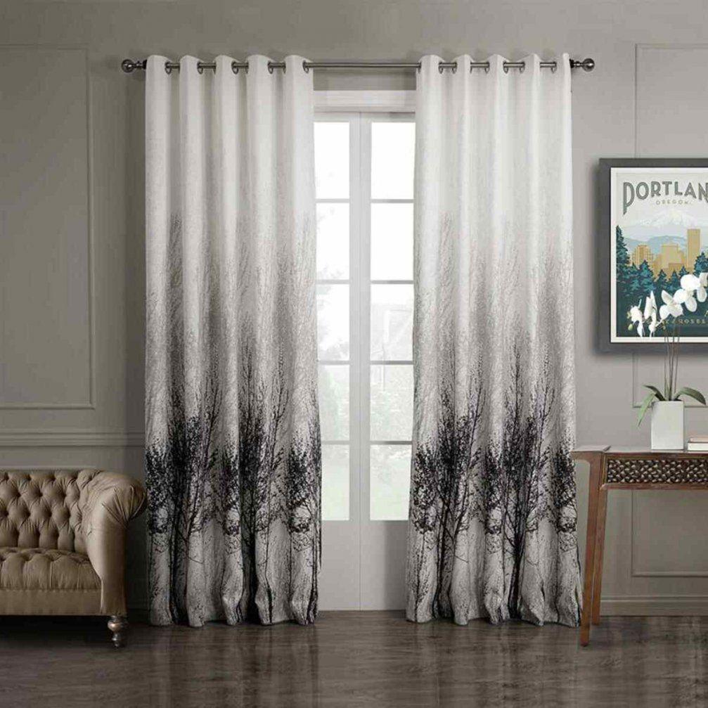 Vorhang Grau Wei Gestreift Awesome Cheap Gardine Store Weiss von Gardinen Schwarz Weiß Grau Bild