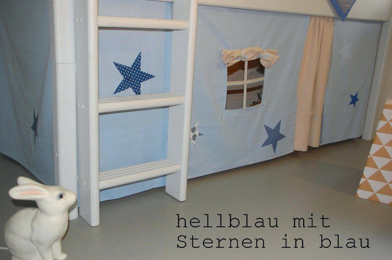 Vorhang Hochbett Spielbett Kinderbett Jelle Mit Neu Lilokids Fur von Vorhang Für Hochbett Selber Nähen Photo