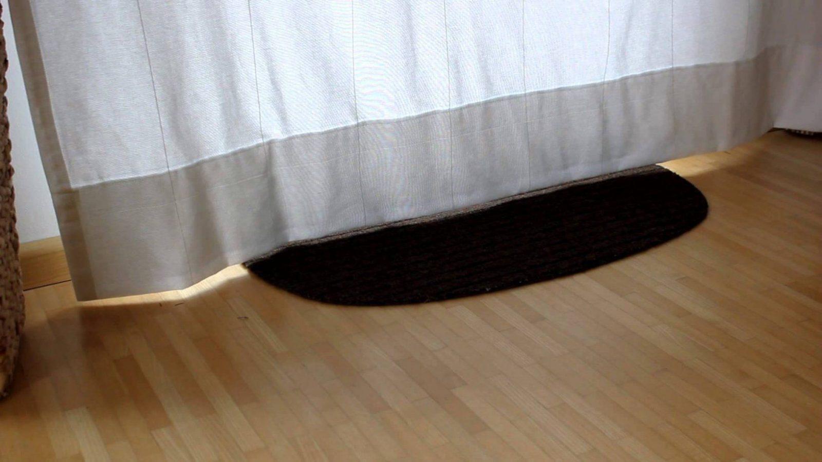 Vorhang Kürzen Teil 0708 Fertig Aufgehängt  Youtube von Gardinen Kürzen Ohne Nähen Photo