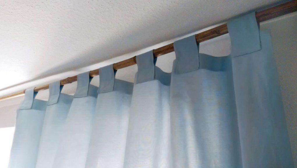 Vorhang Mit Schlaufen Nähen  Toll Erklärt )  Nähideen von Gardinen Schlaufen Nähen Bild