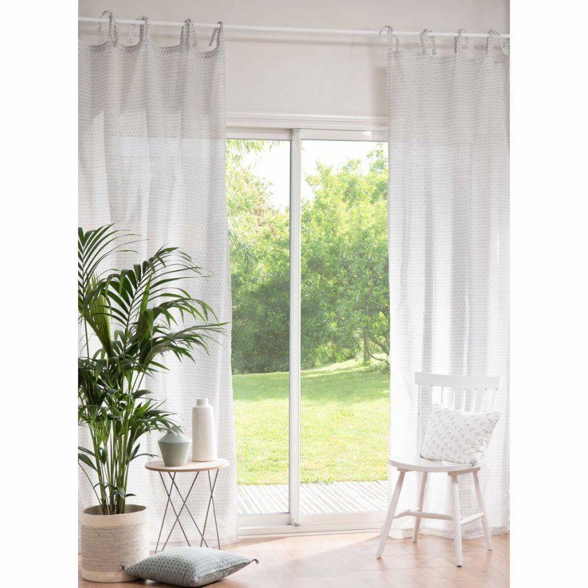 Vorhang Mit Schlaufen Zum Binden Aus Baumwolle Mit Motiven 110X250 von Vorhänge Mit Schlaufen Zum Binden Bild