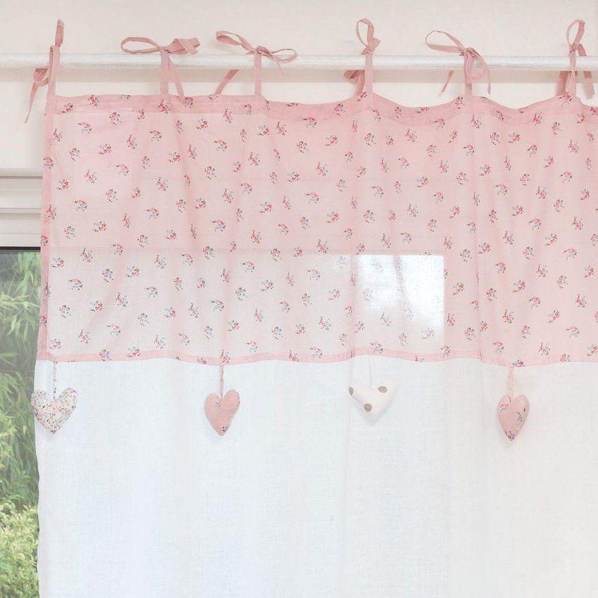 Vorhang Mit Schlaufen Zum Binden Aus   Kinderzimmer  Pinterest von Vorhänge Mit Schlaufen Zum Binden Photo