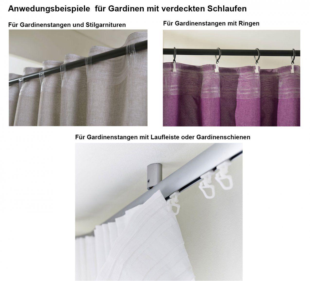 Vorhang Schal Schlaufen Blickdicht Leinen Optik Chenille Streifen von Verdeckte Schlaufen Gardinen Photo