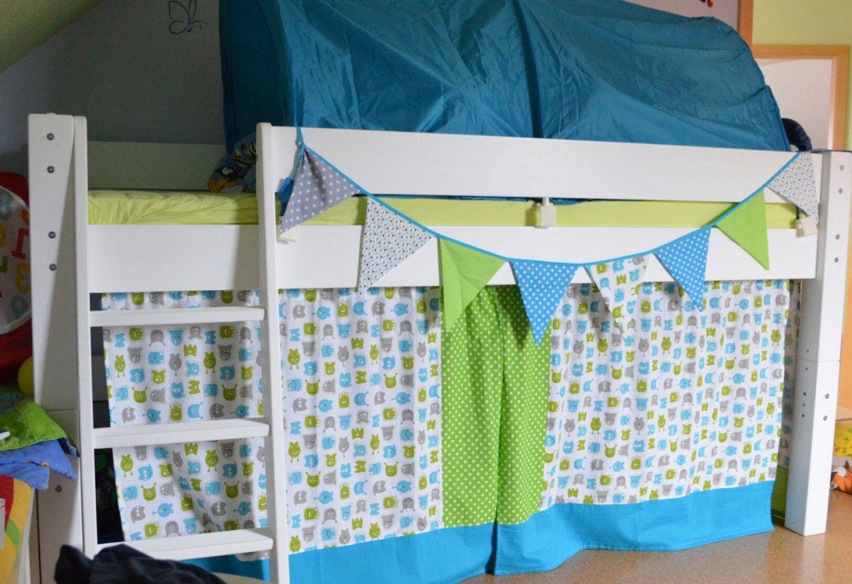 Vorhang Für Etagenbett : Vorhänge selber nähen swalif von vorhang hochbett
