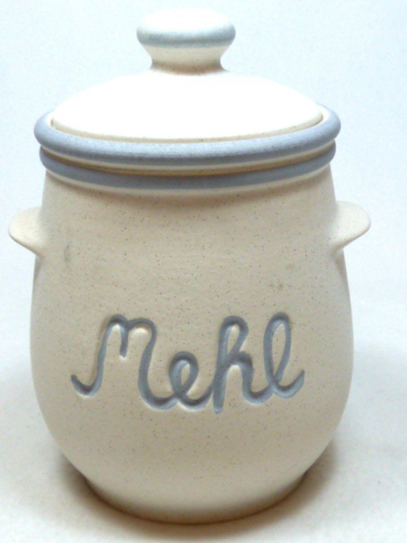 Vorratsdose Mehl von Vorratsdosen Mehl Zucker Salz Keramik Bild