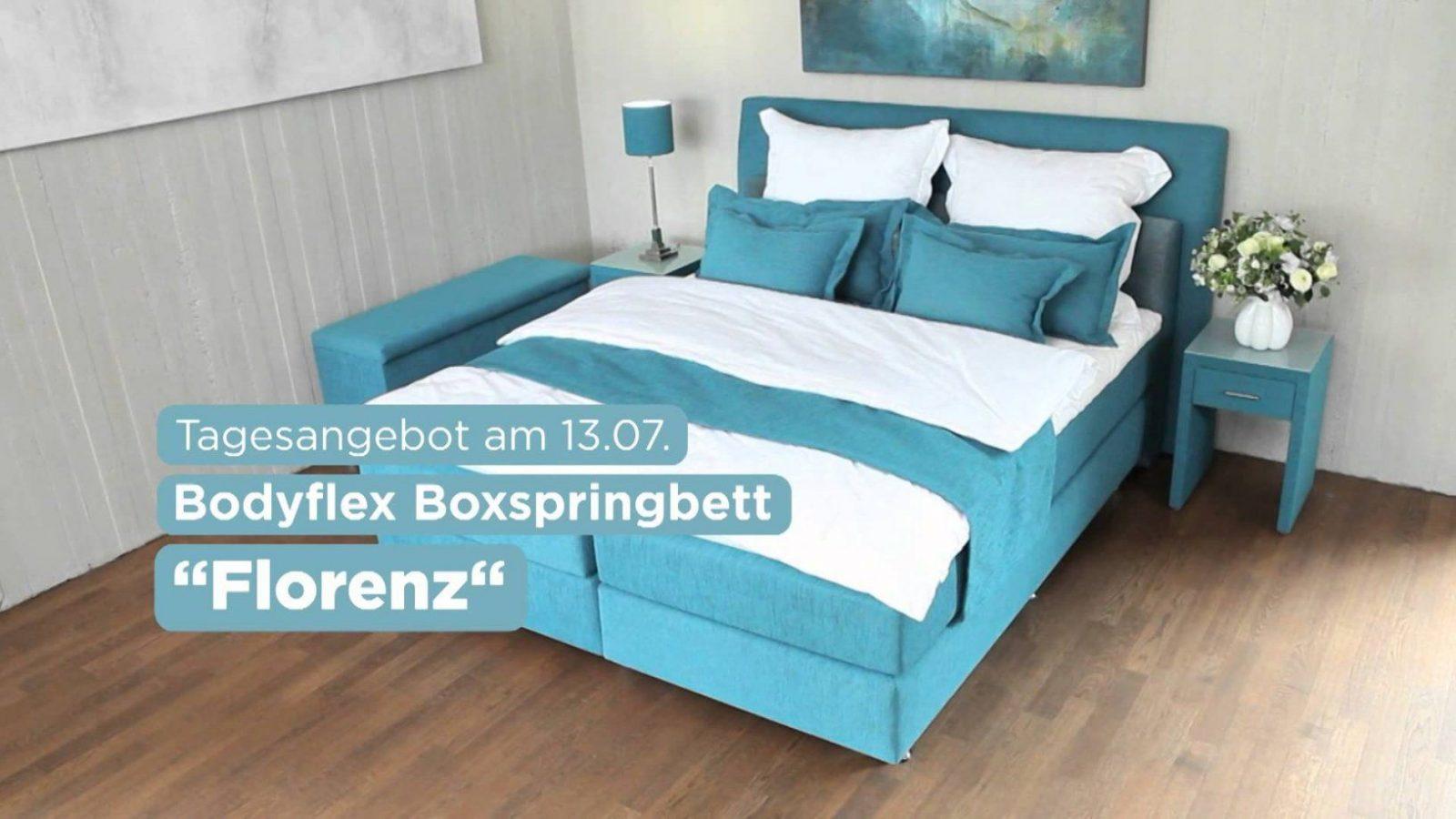 """Vorteile Des Bodyflex Boxspringbett """"florenz""""  Youtube von Bodyflex Boxspringbett Test Photo"""