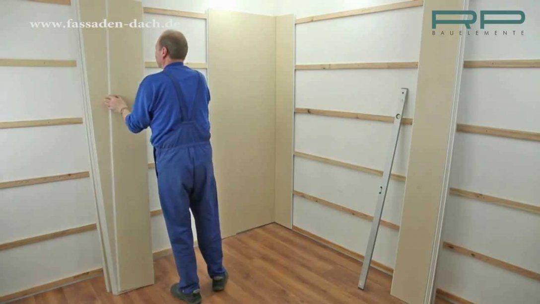Vox Innenwandbekleidung Mit Wandpaneele Aus Kunststoff  Youtube von Wand Paneele Verkleidung Anbringen Photo
