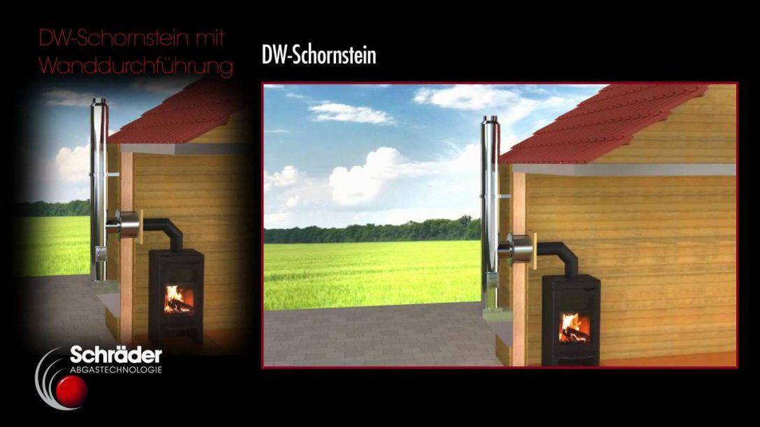 Wand Decken Und Dachdurchführung Von Schräder  Youtube von Schornstein Innen Nachträglich Einbauen Bild