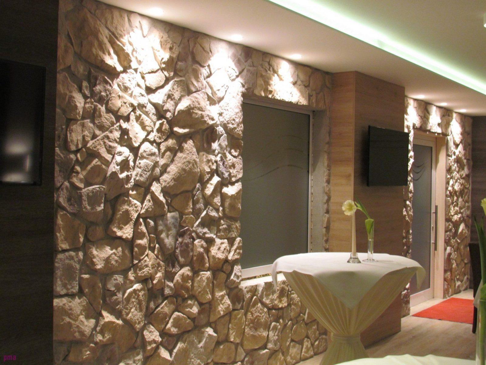 Wand Steinoptik Wohnzimmer 26 Modern Galerie Mehr Als Wand von Steinoptik Wand Selber Machen Bild