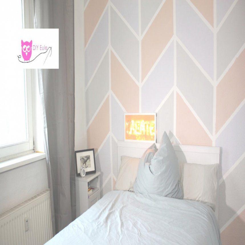 wand streichen muster abkleben haus design ideen. Black Bedroom Furniture Sets. Home Design Ideas