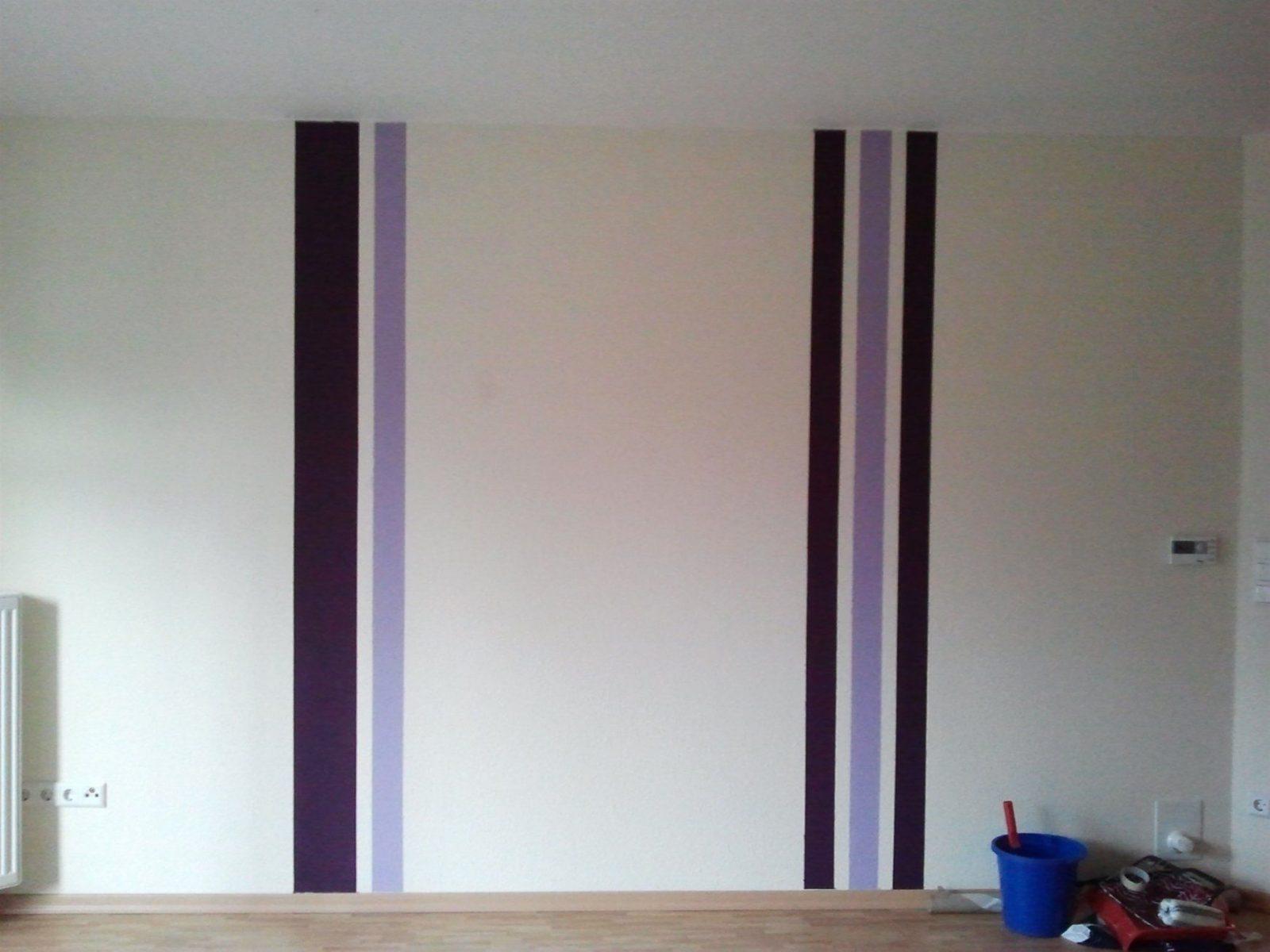 Wand Streichen Mit Streifen