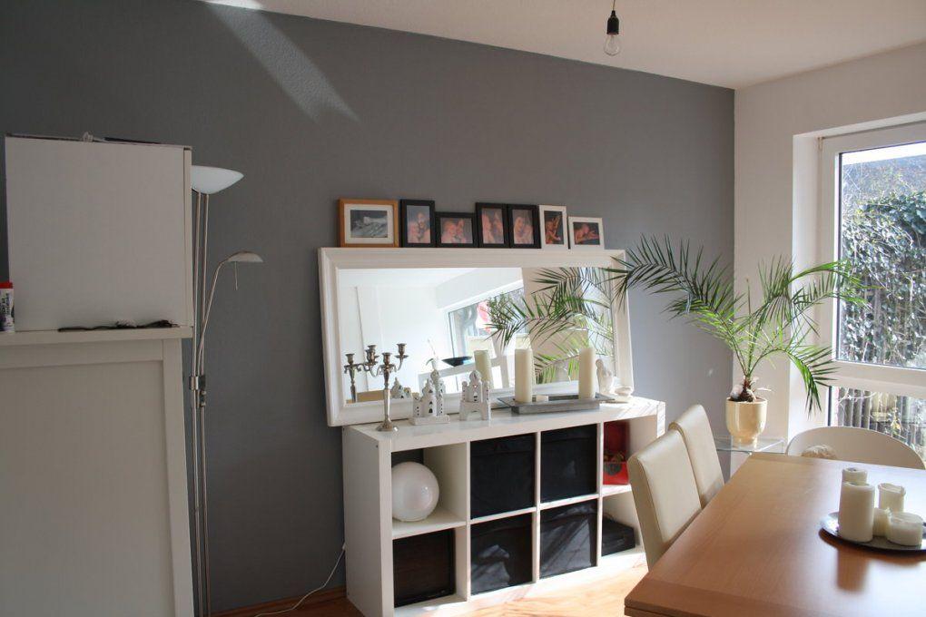 Wände Streichen Von Silber Bis Anthrazit  Solebich von Wohnzimmer Grau Weiß Streichen Bild