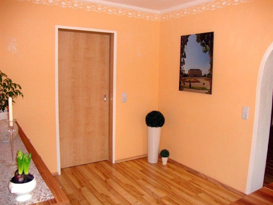 Wandfarbe Apricot von Wandfarbe Apricot Schöner Wohnen Photo