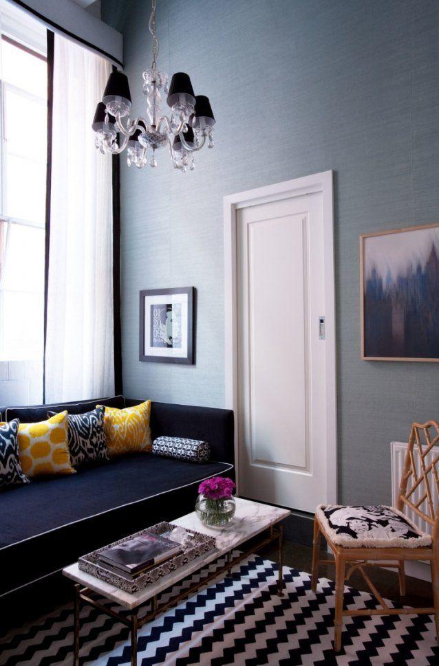 Wandfarbe Grau Kombinieren  55 Deko Ideen Und Tipps von Deko Ideen Schwarz Weiß Bild