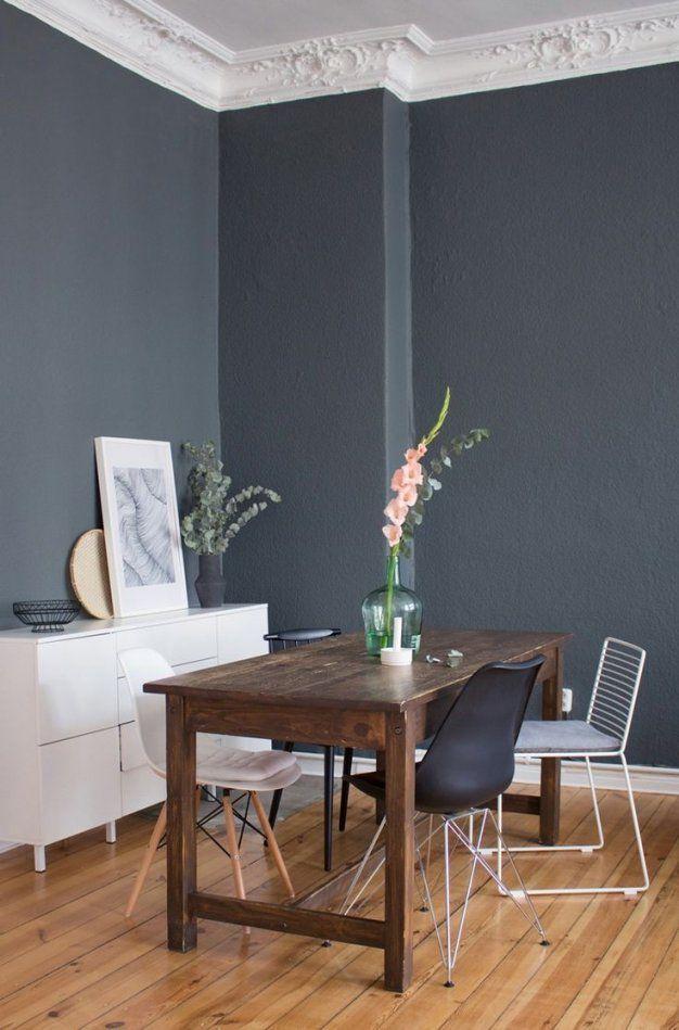 Wandfarbe Grau Schöner Wohnen von Schöner Wohnen Farbe Niagara Photo