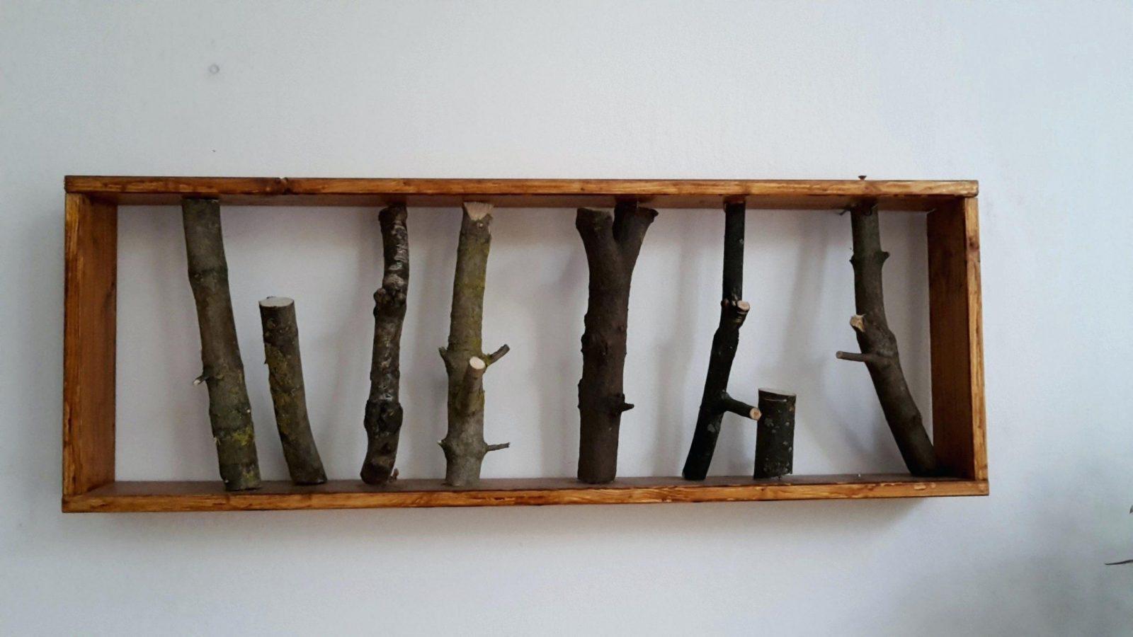 Wandgarderobe Selber Bauen 31 Kreative Ideen Fa 1 4 R Garderobe Im von Garderobe Selber Bauen Baum Bild