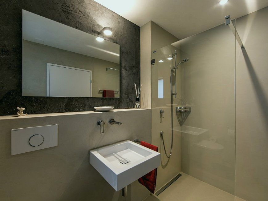 Wandgestaltung Badezimmer Ohne Fliesen Lovely Bad Ohne Fliesen An von Bad Ohne Fliesen An Der Wand Ideen Photo