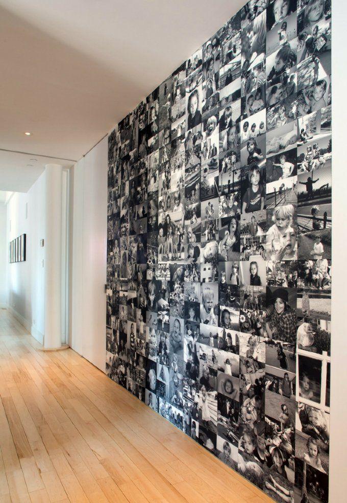 Wandgestaltung Flur 60 Kreative Deko Ideen Für Den Flur von Kreative Wandgestaltung Mit Fotos Bild