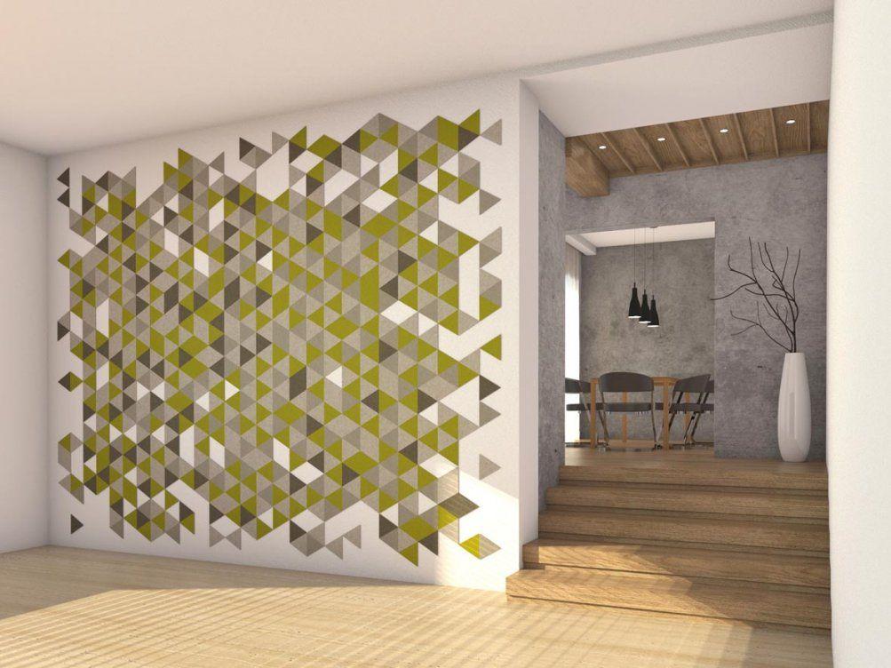Wandgestaltung Flur Viele Formen Und Farben ♥ Felty von Farben Für Den Flur Bild