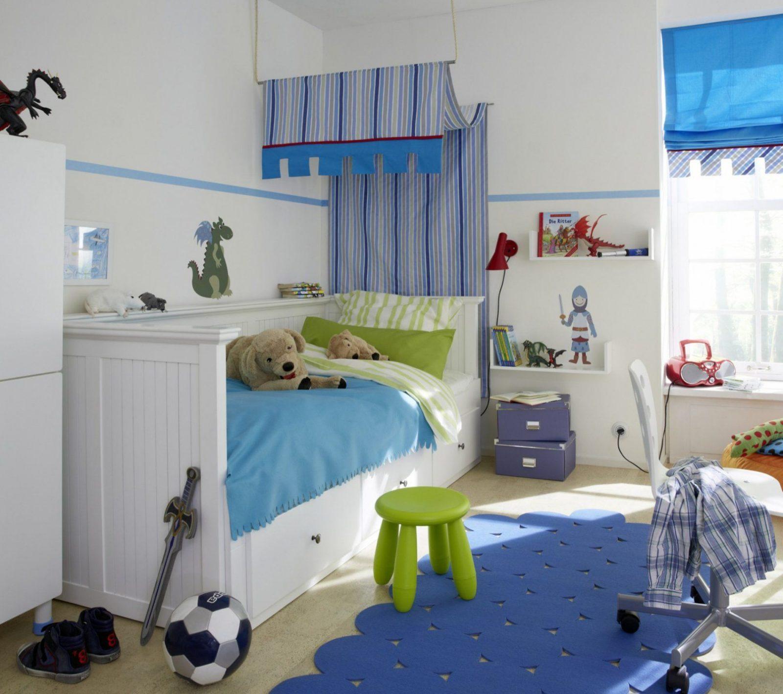 Wandgestaltung Im Babyzimmer  Roomido Pertaining To Aufregend von Kinderzimmer Für Jungs Gestalten Bild