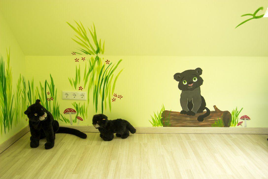 Wandgestaltungkinderzimmerdschungelselbermachen (12)  Mission von Wandgestaltung Kinderzimmer Selber Machen Bild