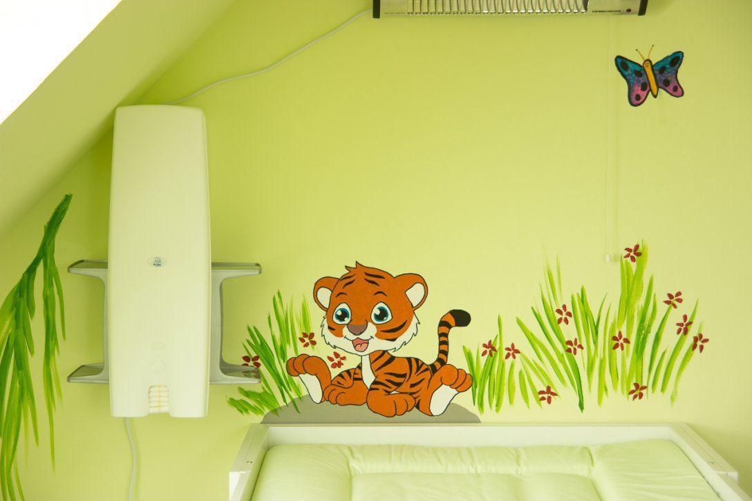 Wandgestaltungkinderzimmerdschungelselbermachen (2)  Mission von Wandgestaltung Babyzimmer Selber Machen Photo