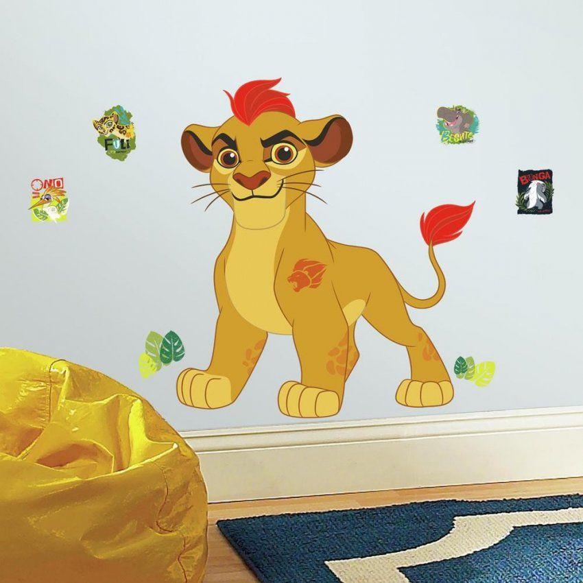 Wandsticker Die Garde Der Löwen  Kion  Wallart von Garde Der Löwen Bettwäsche Photo