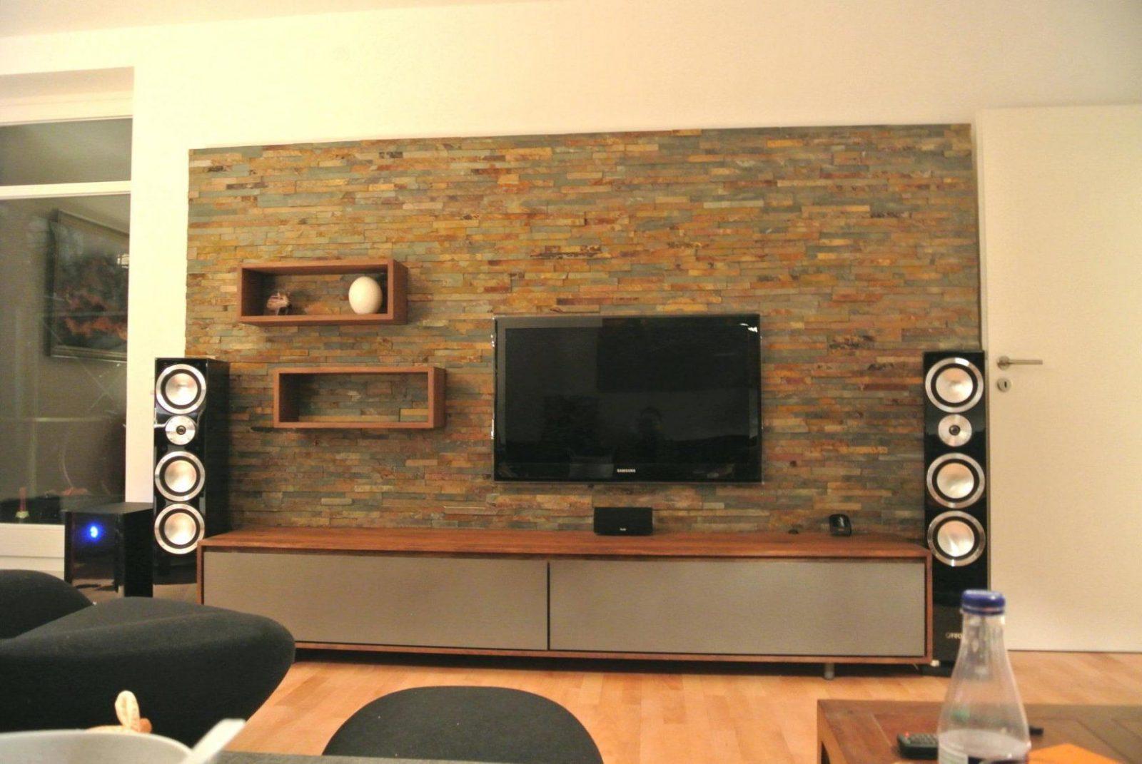 Wandtapete Stein Stylish Design Tapete Steinoptik Wohnzimmer Grau von Tapete In Steinoptik Wohnzimmer Bild