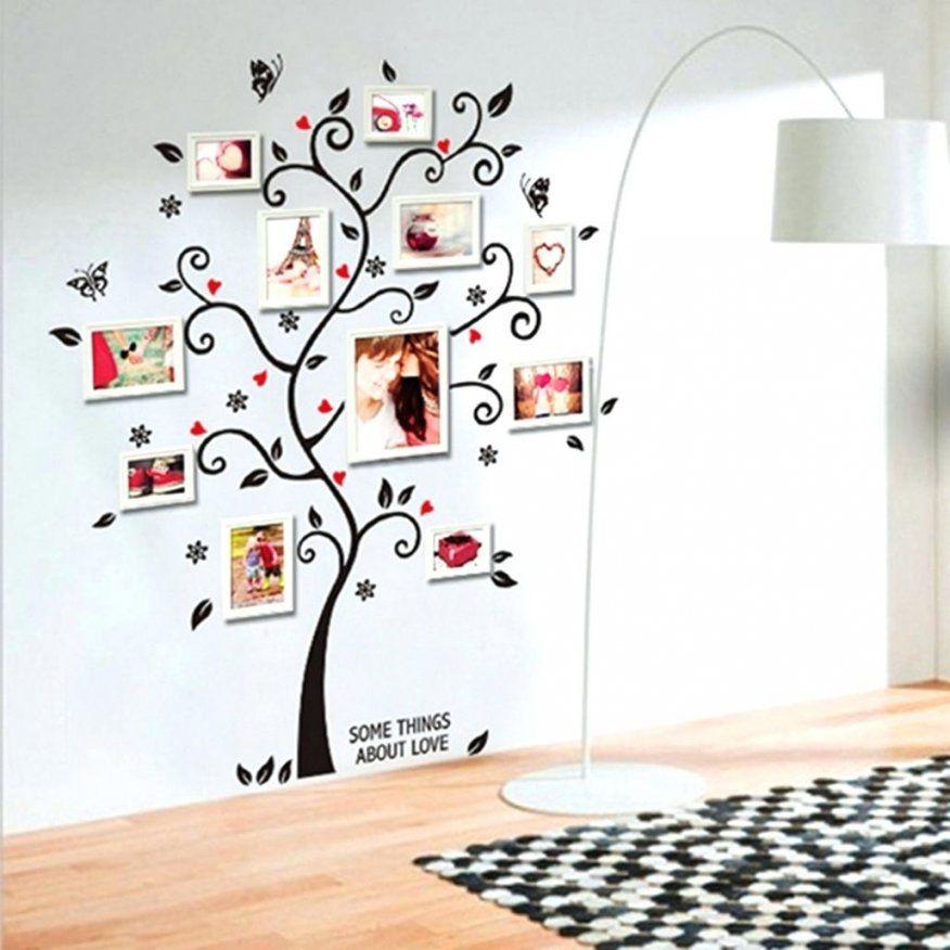 Wandtattoo Bilderrahmen Spannende Mit Ruptos Deko Baum Wand Gross von Wandtattoo Baum Mit Fotorahmen Photo
