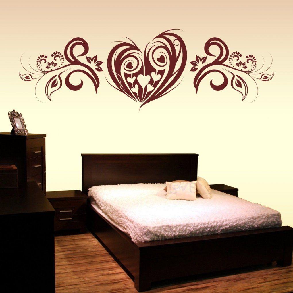 Wandtattoo Herz Liebe Mit Wand Aufkleber Blumen Ranke Xxl von Aufkleber Für Die Wand Photo